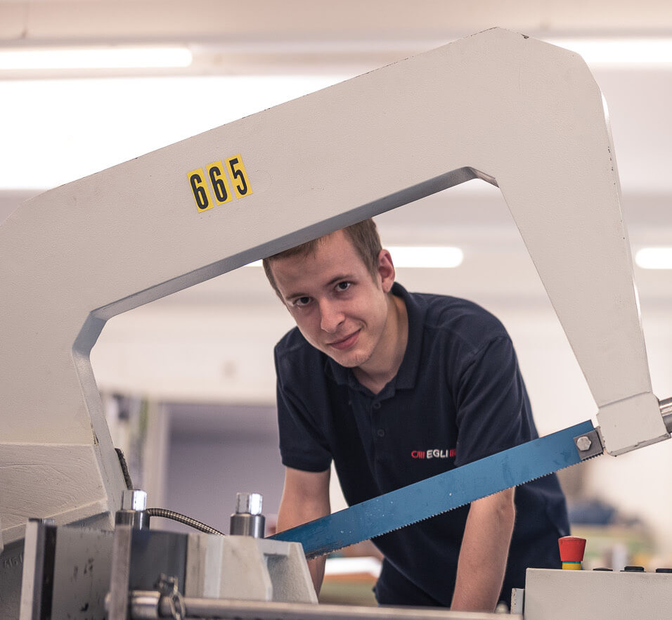 Egli Federnfabrik neuer Mitarbeiter
